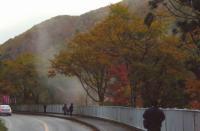 小安峡大噴湯12国道398号