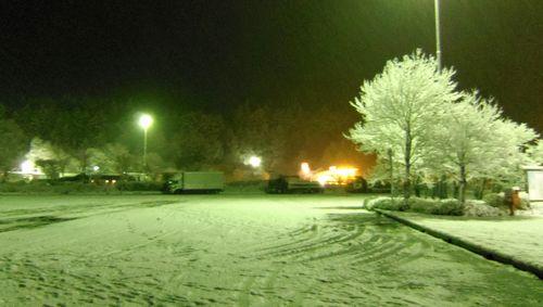冬2012東北道盛岡まで9紫波SA