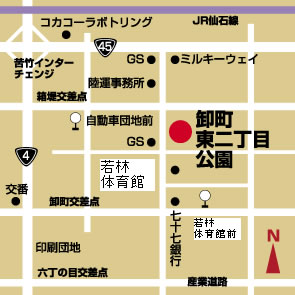 map卸町