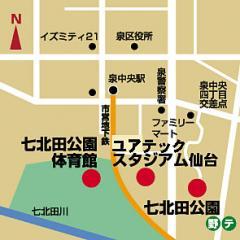 map七北田