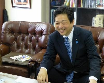 大西宏幸先生の事務所に訪問 002