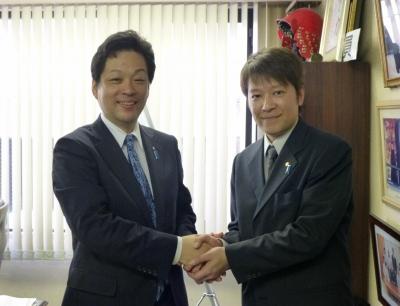 大西宏幸先生の事務所に訪問 007