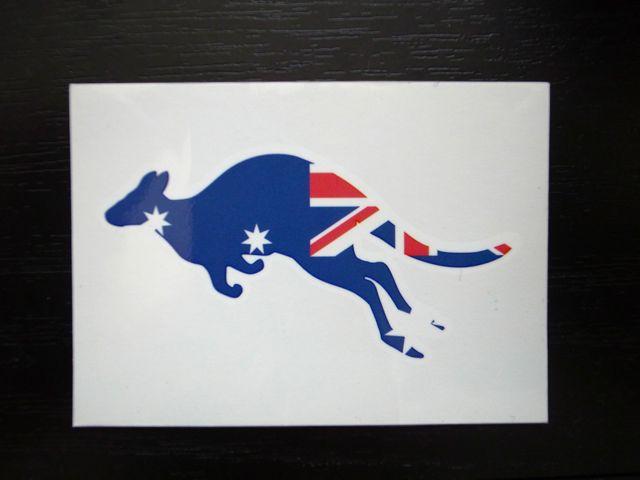 オーストラリア ステッカー