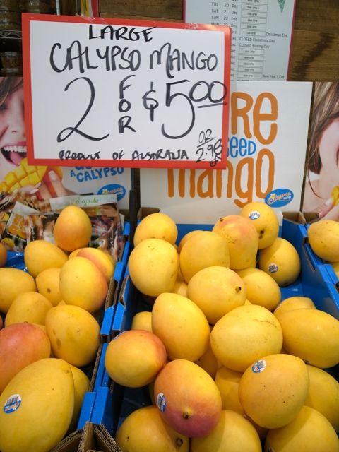 シドニーのマンゴー1