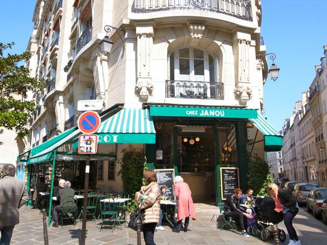 パリ Chez Janou1