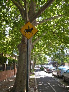 シドニー 標識
