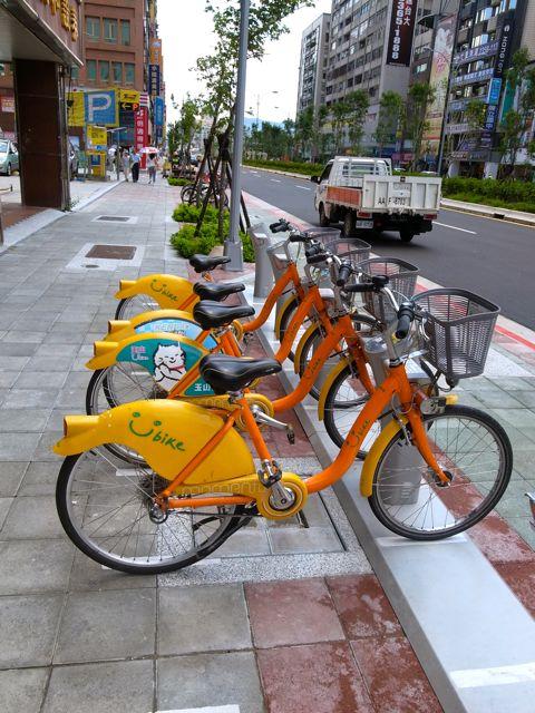 台北 レンタサイクル