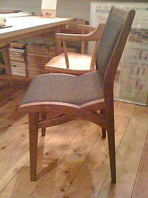 座りやすい椅子