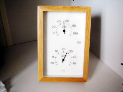 温度計、湿度計