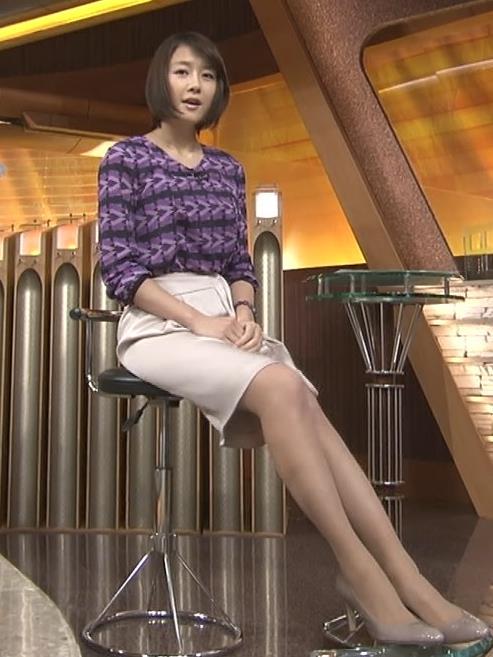 大島由香里 ミニスカート美脚 (20131214)