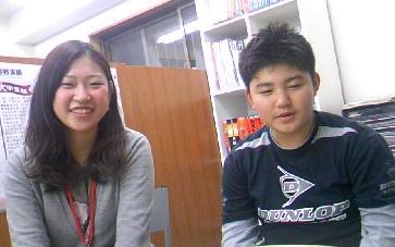 佐野講師と添田くん