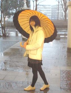 おしゃれ傘ですね