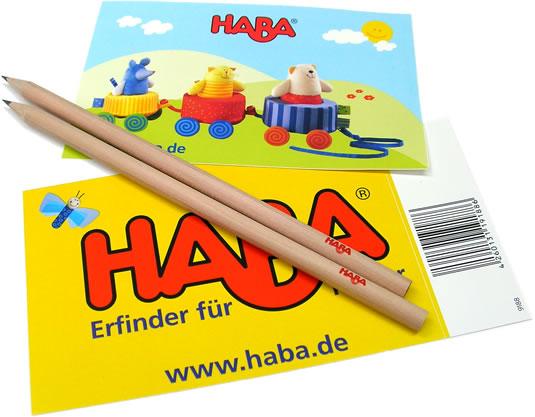 HABA鉛筆&シール