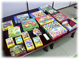 2011年2月親子ゲーム&お寿司会:用意したゲーム