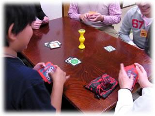 2011年2月親子ゲーム&お寿司会:ジャングルスピード