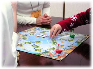 2011年2月親子ゲーム&お寿司会:パイレーツゲーム・ピラティシモ