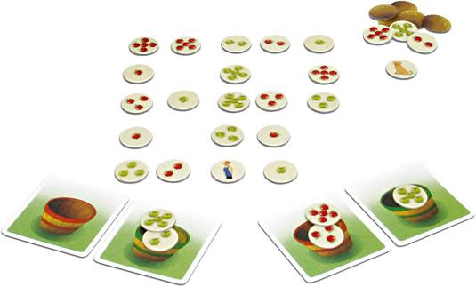 22個のリンゴ:展示用写真