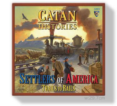 カタン:アメリカの開拓者たち:箱