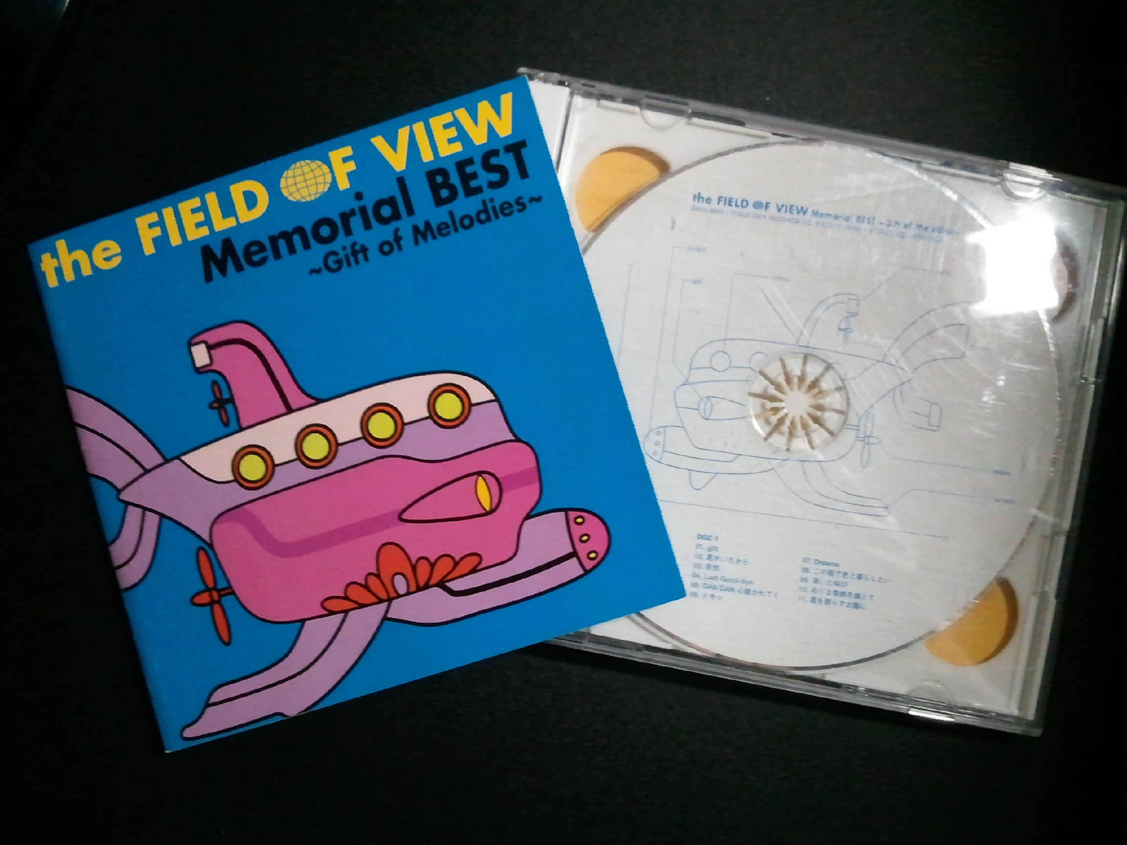 the Field of View memorial best ~ gift of melodies