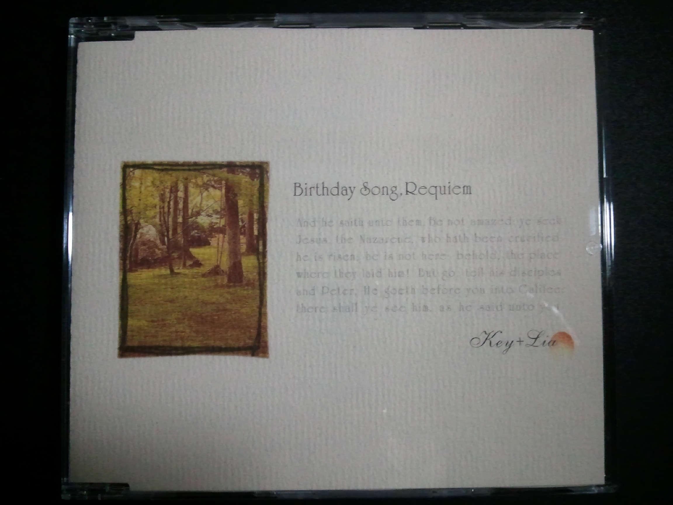 Key + Lia Birthday Song Requiem