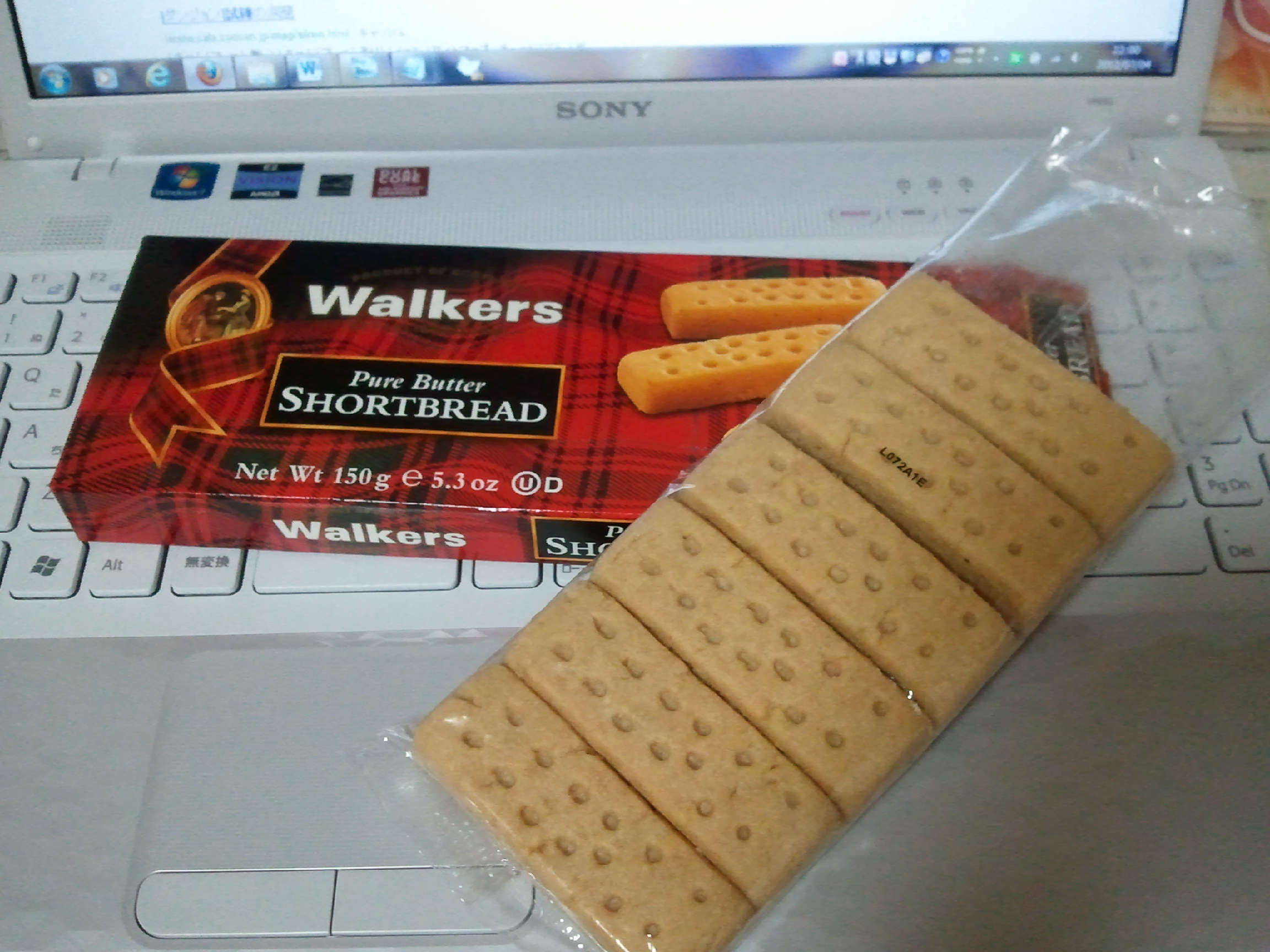 Walkers pure butter shortbread jupiter