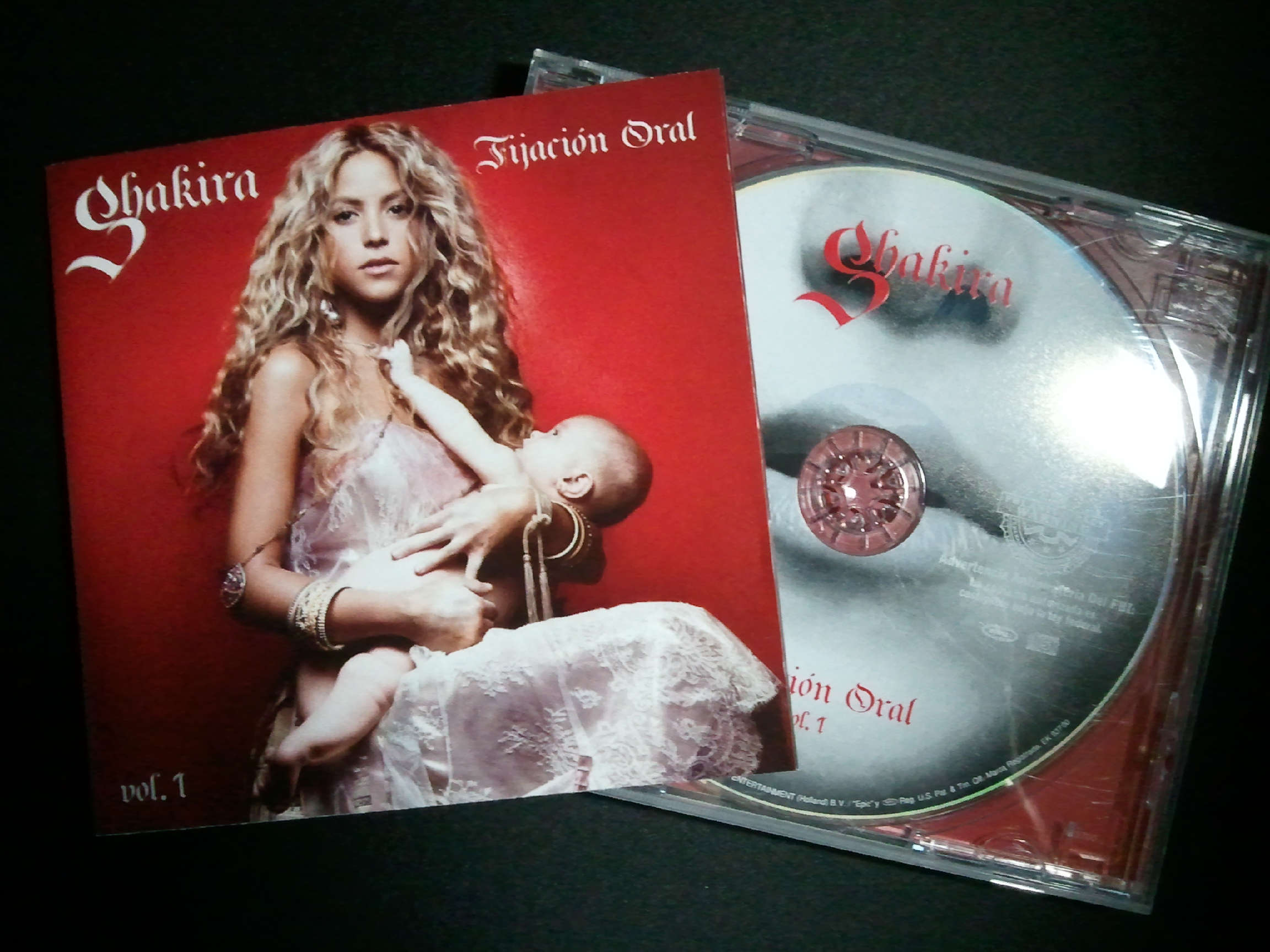 Shakira Oral Fixation vol.1