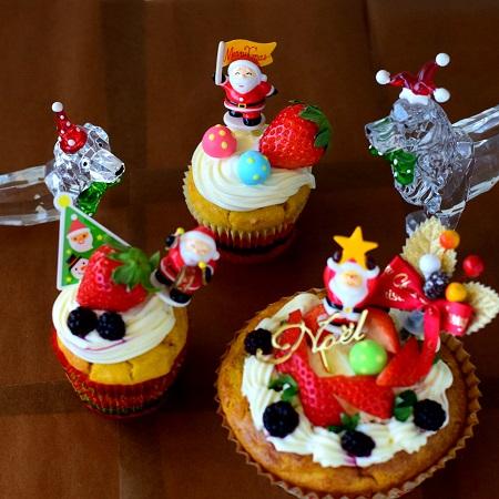 クリスマスケーキレッスン1