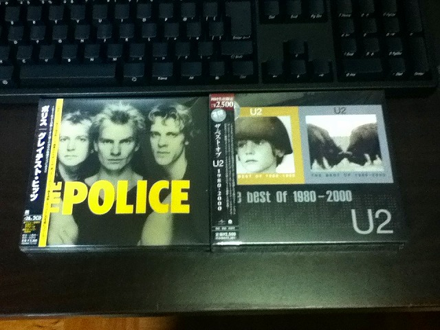 The Police グレイテスト・ヒッツ AND U2 The best of 1980-2000