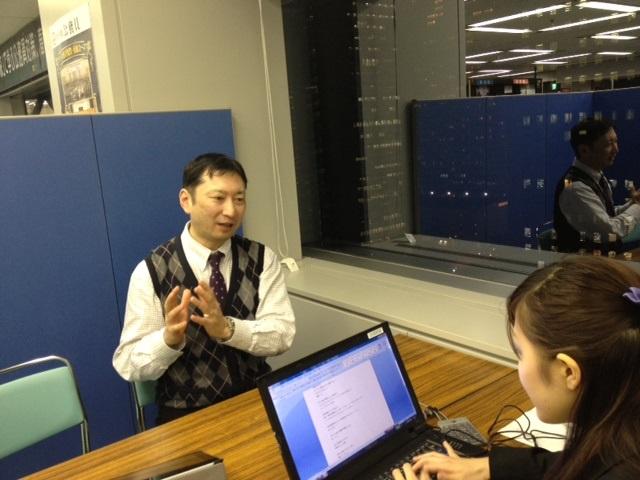 高坂先生&伊関さん1