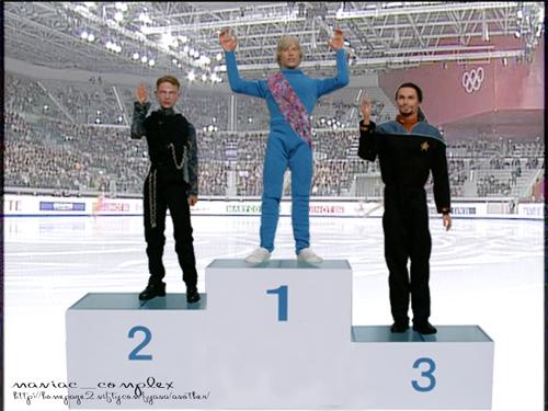 男子シングル フィギュア 表彰式