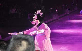 Minnie Mouse with Kimono on