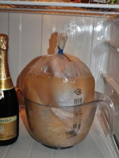 Turkey in brining