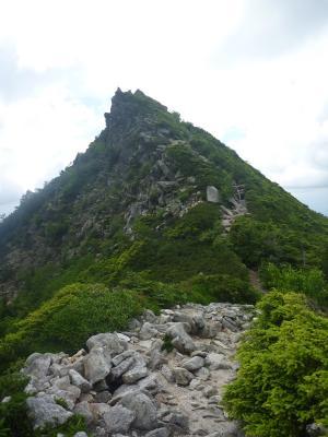 ⑮石鎚山の天狗岩もどき