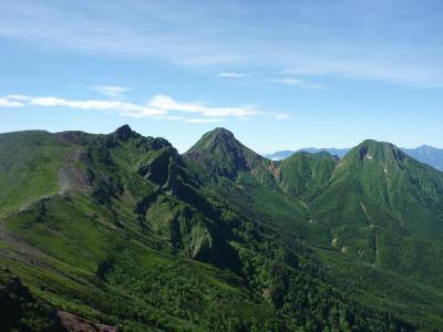 八ヶ岳稜線