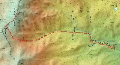 1007白馬岳ログ
