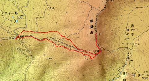 1009黒斑山ログ