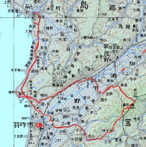 1205碁石ヶ峰ログ