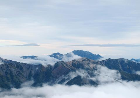 裏銀座と剣立山