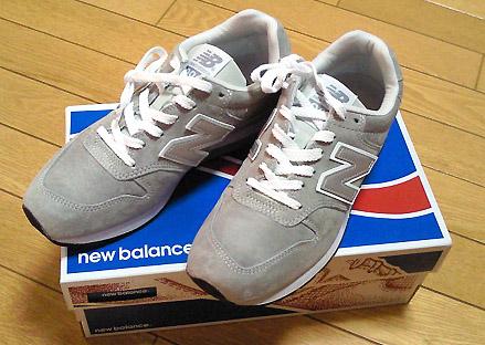 ついでに「new balance(ニューバランス)」の996シリーズも。