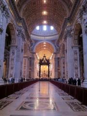 サンピエトロ大聖堂内