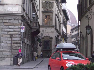 フィレンツェ 街中にて