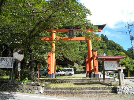 金桜神社の鳥居