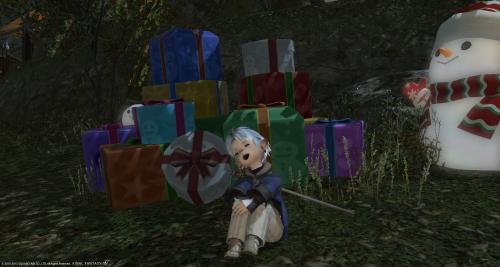 プレゼント、いっぱい。