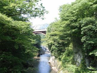 吾妻渓谷鉄橋