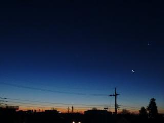 20110131夜明け前