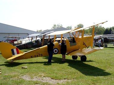 DH82タイガーモス勢揃いFerte Alais Air ShowにてREVdownsize