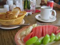 マレーシア ポートディクソン ホテル朝食