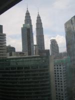 マレーシア クアラルンプール ホテル窓
