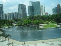 マレーシア クアラルンプール KLCC公園