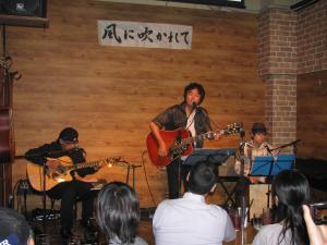 CD発売記念ライブ@風ふか